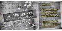 Admin fake honeypot