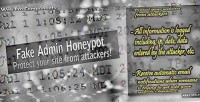 Admin fake honeypot
