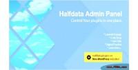 Admin halfdata panel