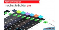 Admin themes for mobile pro builder site