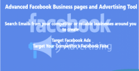 Advanced facebook business pages tool advertising and