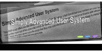 Advanced simply user system