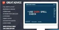 Advice great script generator quote