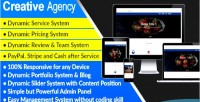 Agency creative complete website agency system management and