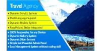 Agency travel responsive travel management agency system engine booking with