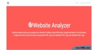 Analyzer website