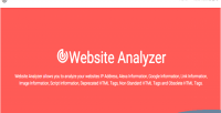 Analyzer website