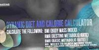 And bmi calculator calorie bmr