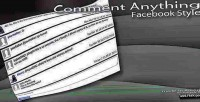 Anything comment facebook style