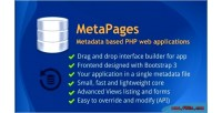 Application metapages builder