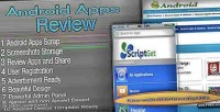 Apps android review script