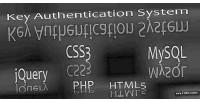 Authentication key system