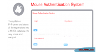 Authentication mouse system