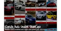 Auto klerith dealer showcase