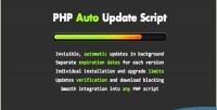 Auto php update script