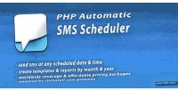 Automatic php sms scheduler