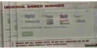 Banner universal manager