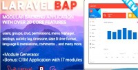 Bap laravel modular backend application example platform crm modules 17 with