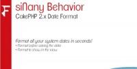Behavior sinany cakephp format date 2.x