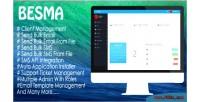 Besma bulk email & application marketing sms