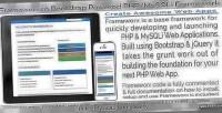 Bootstrap frameworx powered framework mysqli php