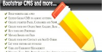Bootstrap3 cms