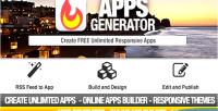 Builder apps generator app mobile