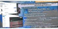 Bulletin simple board edition bootstrap sbb4