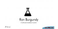 Burgundy ron
