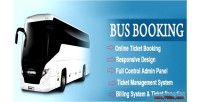 Bus reservation system bus system booking ticket bus