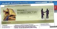Business apphp directory script