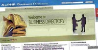 Business apphp directory script