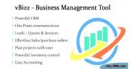 Business vbizz management tool