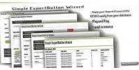 Button export wizard