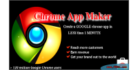 Chrome make app minute 1 within
