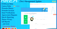 Clinic arex management system