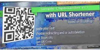 Clipboarder simple with service shortener url