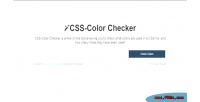 Color css checker