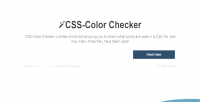 Color css checker