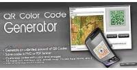 Color qr code generator