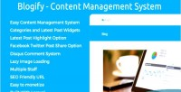 Content blogify management system