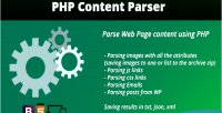 Content php parser