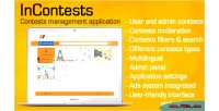 Contests incontests managing application