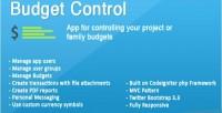 Control budget