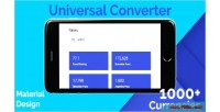 Converter universal global rates conversion currencies