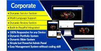 Corporate corporate business system website management and