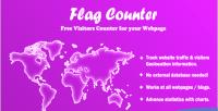 Counter flag counter visitors advance