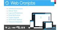 Cronjobs web