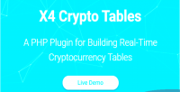 Crypto x4 plugin php tables