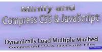 Css dynamic js minifier